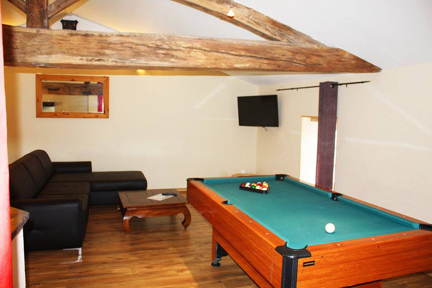 Billard du cottage