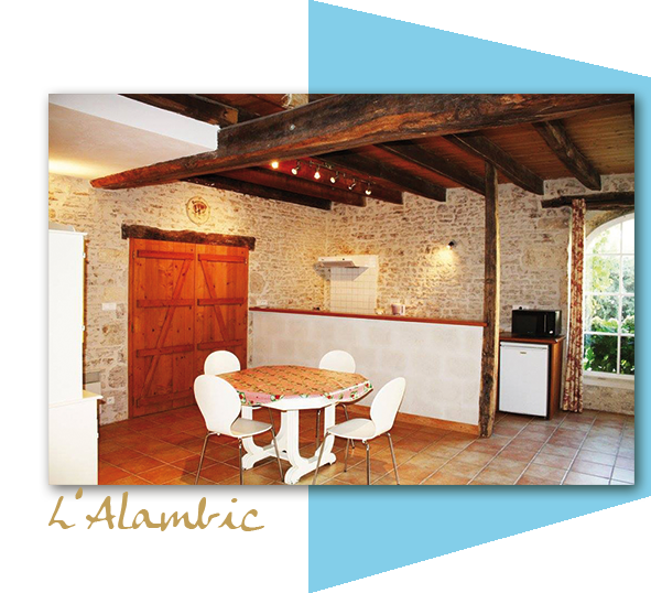 L'Alambic, cottage 4 people