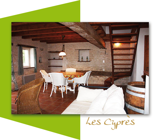 Les Cyprès, 6 people cottage