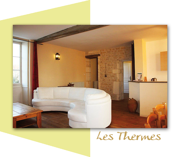 Les Thermes,  6 people cottage