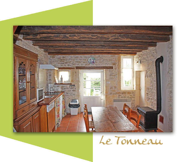 Le Tonneau, cottage 4 people
