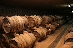 Cognac and its famous cellars