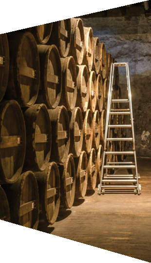 Visite of Cognac cellars