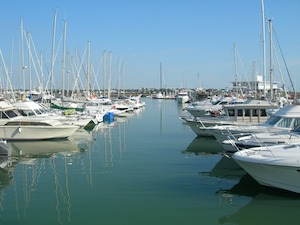 Marina of Royan